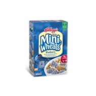 Kellogg'S Frosted Mini Wheats Bite Size Blueberry 15.5-Ounce (Pack Of 2)