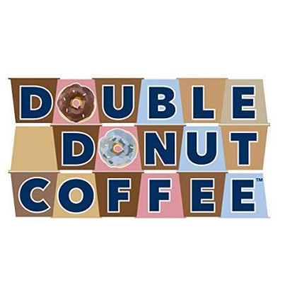 Double Donut Coffee Decaf Vanilla Bean Flavored Coffee Single Serve Cups For Keurig K Cup Brewer (24 Count)