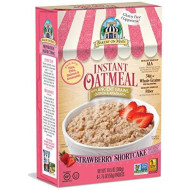 Bakery On Main Gluten Free Non-Gmo Instant Oatmeal, Strawberry Shortcake, 10.5 Ounce Box