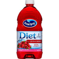 Diet Ocean Spray Cherry Juice, 64 Oz