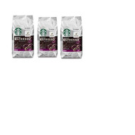 Starbucks, Dark Roast, Espresso Roast Ground Coffee, 12Oz Bag (Pack Of 3)