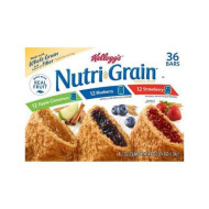 Kellogg'S Nutri Grain Variety Pack (1.3 Oz., 36 Ct.) (Pack Of 6)