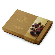 Godiva Chocolatier Chocolate Nut And Caramel Gift Box, Great For Gifting, Chocolate Caramels, Chocolate Treats, Nut Lovers, 19 Piece