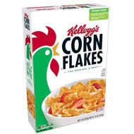 Kellogg'S Corn Flakes, Breakfast Cereal, Original, Fat-Free, 12 Oz Box