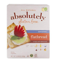 Absolutely Gluten Free Original Flatbread, 5.29-Ounce (12 Pack)