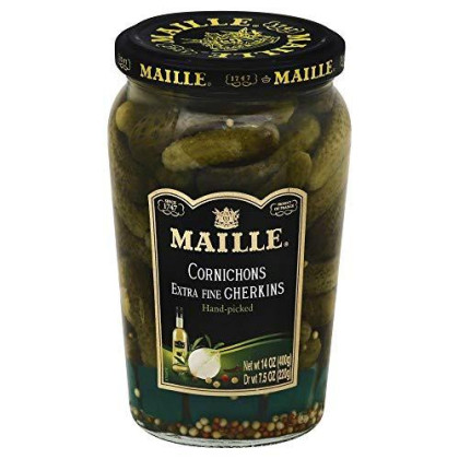 Maille Cornichons/Gherkins 14.0 Oz(Pack Of 3)