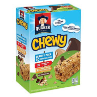 Quaker Chewy Granola Bars, Variety Pack, (60 Countt..)