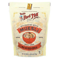 Bobs Red Mill Muesli Old Country Style 18.0 Oz(Pack Of 3)