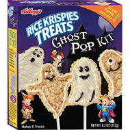 Crafty Cooking Kits Kellogg'S Rice Krispies Treats Ghost Pop Kit, 8.18 Ounce