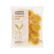 Vermicelli Nests Essential Waitrose 250G - Pack Of 4