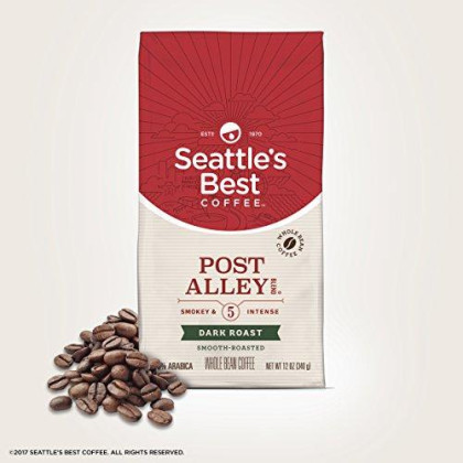 Seattle'S Best Coffee Signature Blend No. 5 Dark Roast Whole Bean Coffee, 12-Ounce Bag