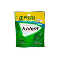 Trident Spearmint Sugar Free Gum 0.98 Oz (Pack Of 6)