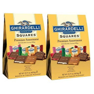 Ghirardelli Squares Premium Assortment Gold, 15.77 Oounce (Pack Of 2)
