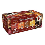 Victor Allen Coffee Autumn Favorites Single Serve K-Cup, 96 Count (Compatible With 2.0 Keurig brevers)