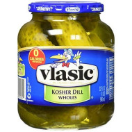 Vlasic Whole Pickles, Kosher Dill, 32 Ounce