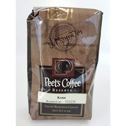 Peet'S Coffee Reserve Kona Whole Bean Fresh Roasted Coffee