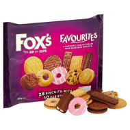 Fox's Favourites Biscuits 365g (Pack of 4)