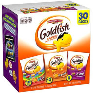 Pepperidge Farm, Goldfish, Crackers, Classic Mix, 29 Oz, Variety Pack, Box, Snack Packs, 30-Count