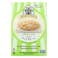 Bakery On Main Oatmeal Instant gluten free Apple Pie, 10.56 oz