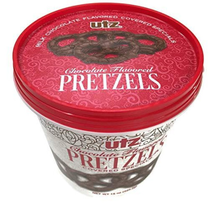 Utz Milk Chocolate Flavored Covered Specials Pretzels, 15 Oz.