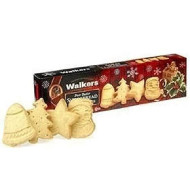 Walkers Shortbread Festive Shapes Butter Cookies, 6.2-Ounce Box - 1 Pack