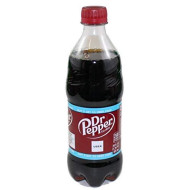 Dr. Pepper Soda Drink Bottle, 20 Oz