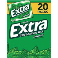 Wrigley'S Extra Spearmint Gum, 20 Pk./15 Ct. (Pack Of 2)
