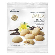 Appleways Whole Grain Vanilla Wafers, 1 Ounce -- 108 Per Case.