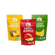 Mavuno Harvest Direct Trade Organic Dried Fruit Variety Pack, Mango, Pineapple, and Banana, 3 Count