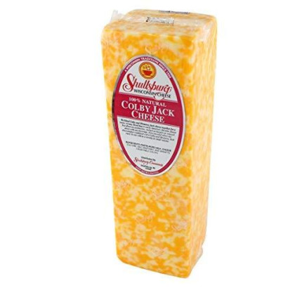 Shullsburg Creamery - Colby Jack Cheese - 5 Pound Loaf