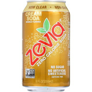 Zevia Cream Soda 72.0 Fo(Pack Of 4)