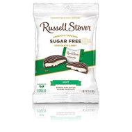 Russell Stover Sugar Free Mint Patties, 3 Oz