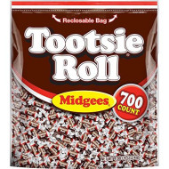 Tootsie Roll Midgees Candy, 700 Ct. (Pack Of 6)