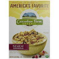 Cascadian Farm Organic Granola Cereal - Fruit & Nut - 13.5 Oz