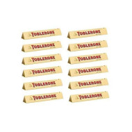 Toblerone Swiss Milk Chocolate With Honey And Almond Nougat 12 X 100 G Bars