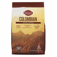 Wellsley Farms Colombian Ground Coffee, 40 Oz. (Pack Of 6)