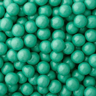 Turquoise Candy Shimmer Sixlets Chocolate 2Lb (Free Cold Pack)