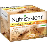Nutrisystem Cinnamon Streusel Muffins, 1.8 Oz, 4 Count