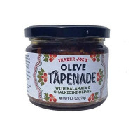 Trader Joe's Olive Tapenade With Kalamata & Chalkidiki Olives, 9.5 Oz (Single)