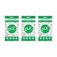 The Pur Company | Sugar-Free + Aspartame-Free Chewing Gum | 100% Xylitol | Spearmint | Vegan + Non Gmo | 55Pieceper Bag (Pack Of 3, 165Piece)
