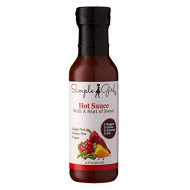Simple Girl Hot Sauce 12 Oz - 3 Bottles - Natural - Sugar Free - Vegan And Diabetic Friendly - Carb Free - Gluten Free - Fat Free - Msg Free - Compatible With Most Low Calorie Diets