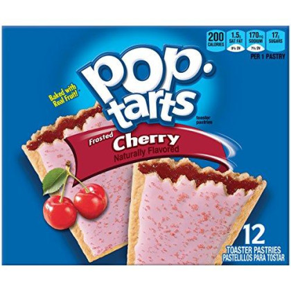 Pop-Tarts Frosted Cherry, 12 Ct