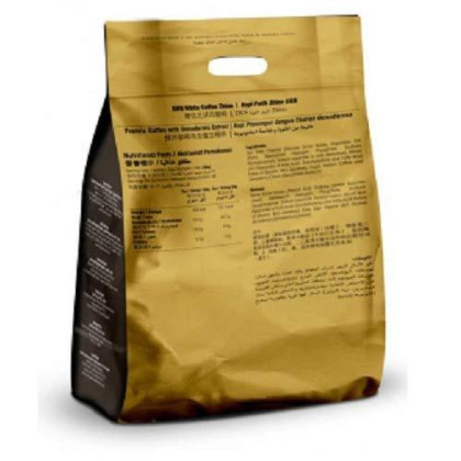 Must Buy ! 12 Pack Dxn White Coffee Zhino With Ganoderma Extract ( Total : 144 Sachets X 28 G/Bag )