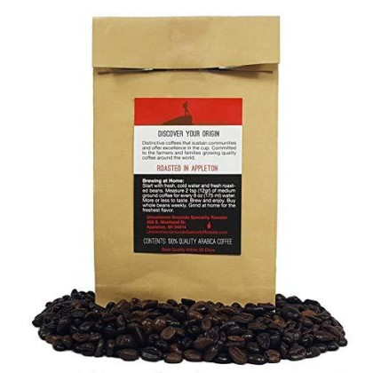 Uncommon Grounds Specialty Coffee Roasts - Ethiopia Yirgacheffe (12 Oz Whole Bean) - Artisan Roasted Fragrant, Fruity, And Freshly Roasted Flavor