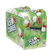 Ice Breakers Cubes Sugar Free Xylitol Gum, Kiwi Watermelon, 19.44 Ounce