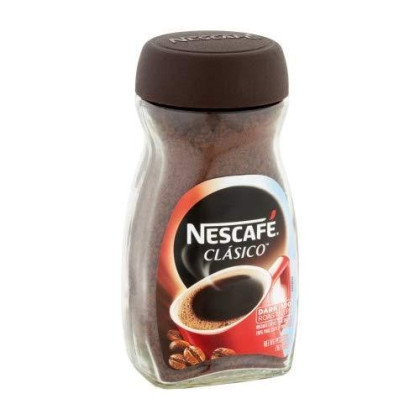 Pack Of 8 - Nescafe Clasico Instant Coffee 7 Oz. Jar