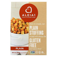 Aleias Plain Stuffing Mix, 10 Ounce - 6 per case.