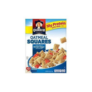 Quaker Oatmeal Squares With A Hint Of Brown Sugar 14.5 Oz. Pk Of 3.