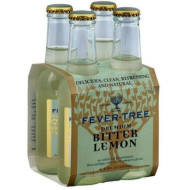 Fever Tree Premium Bitterlemon Soda, 6.8 Fluid Ounce - 4 Per Pack - 6 Packs Per Case.