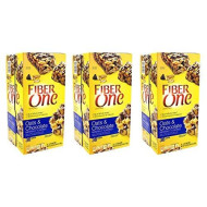 Fiber One Chewy Bars Oats & Chocolate 36- 1.4 Oz Bars (Pack of 3)